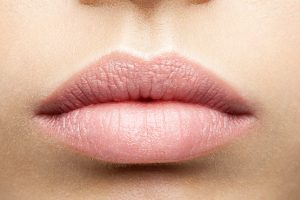 healthy full lips